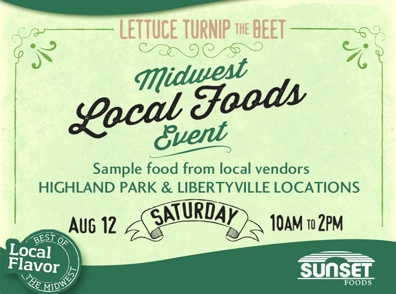 Midwest Local Food event flyer