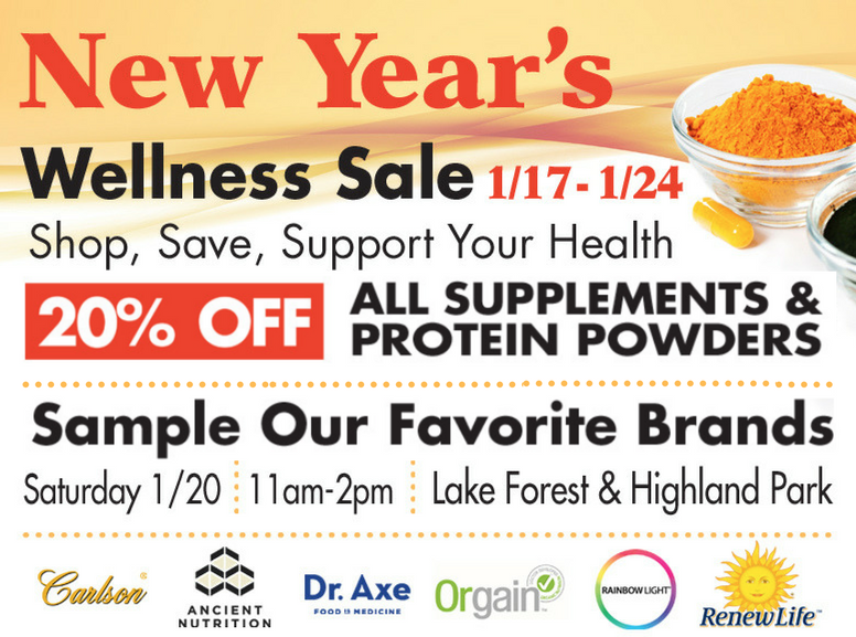 New Years Wellness Sale