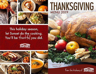 THANKSGIVING MENU2019