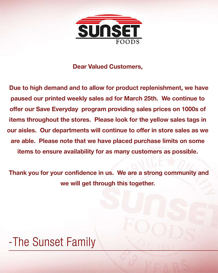 Message From Sunset 3 25 700
