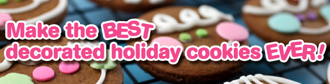 Holiday Cookie Banner