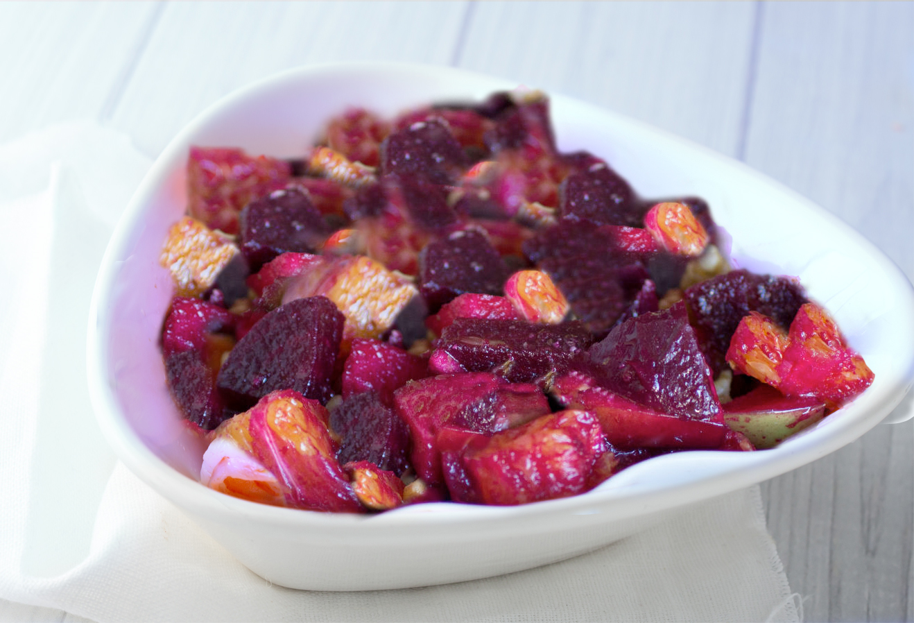 Beet Apple Orange Salad
