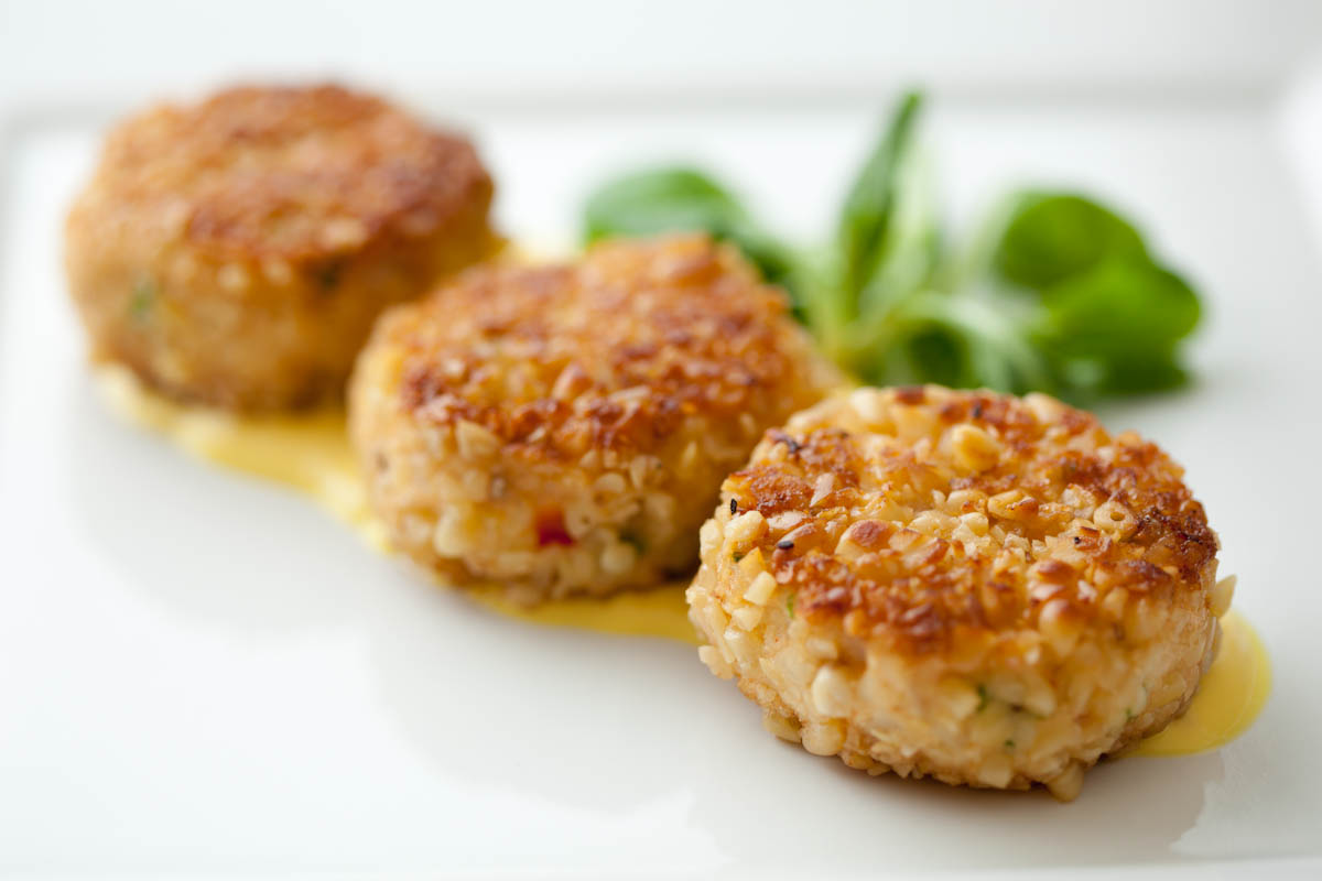 Miniature Crab Cakes