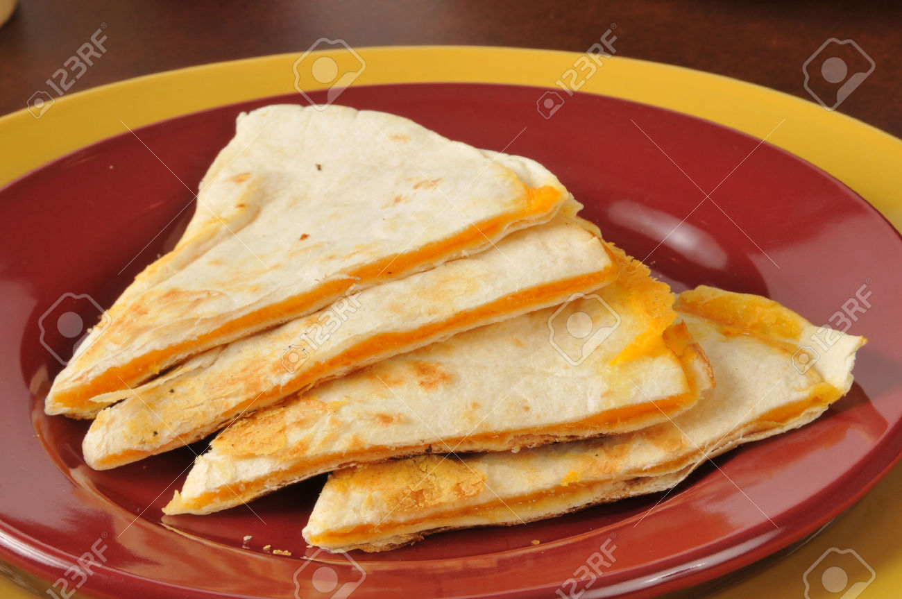 Four Cheese Quesadilla Slices