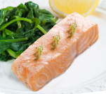 Poached Salmon Fillet