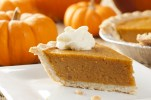 Sliced Pumpkin Pie
