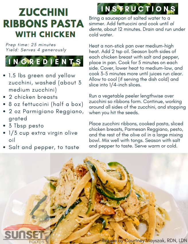 Zucchini Ribbons recipe